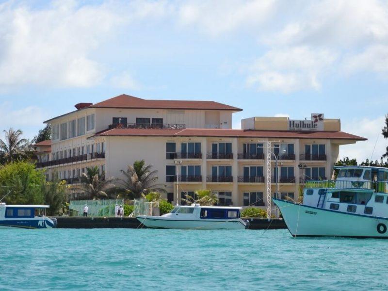 Hulhule Island Hotel Maldives Male Airport Hotel Header