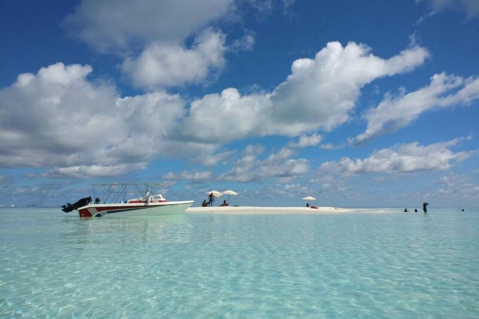 Maldives Snorkeling, Sandbank & Sunset Cruise Day Tour