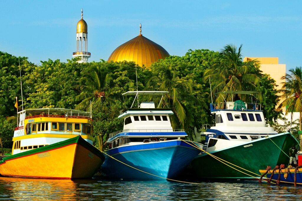 Male The capital of Maldives Header