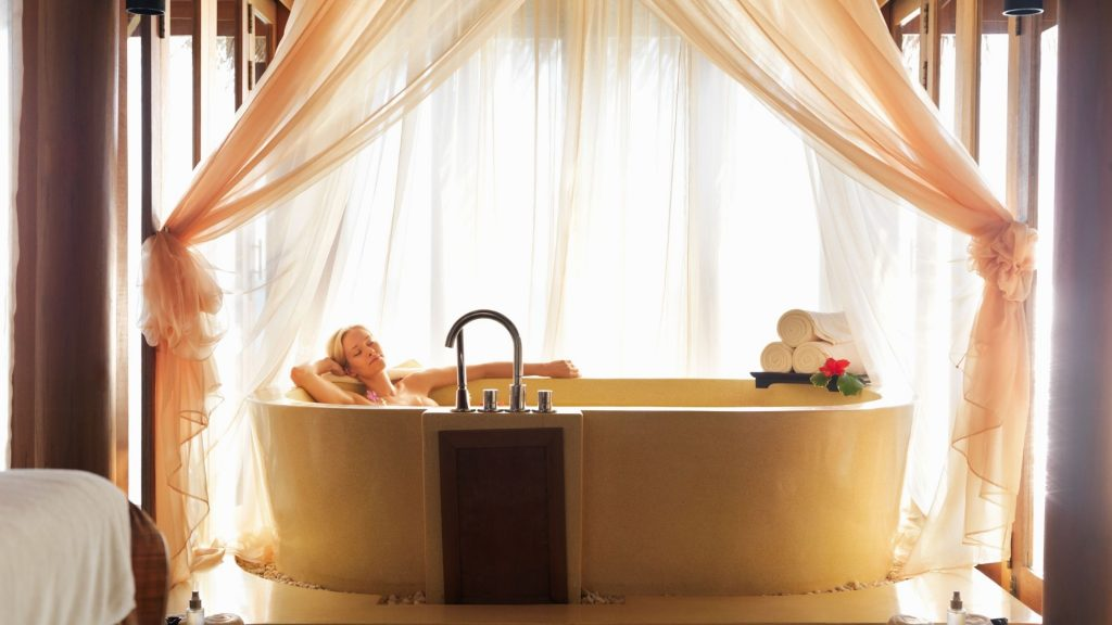Romantic Massage in your Over Water Villa with a Pool