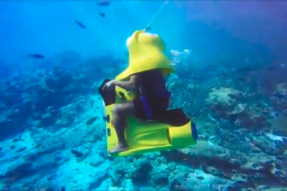 Under Water Scooters in Maldives for Non Swimmers
