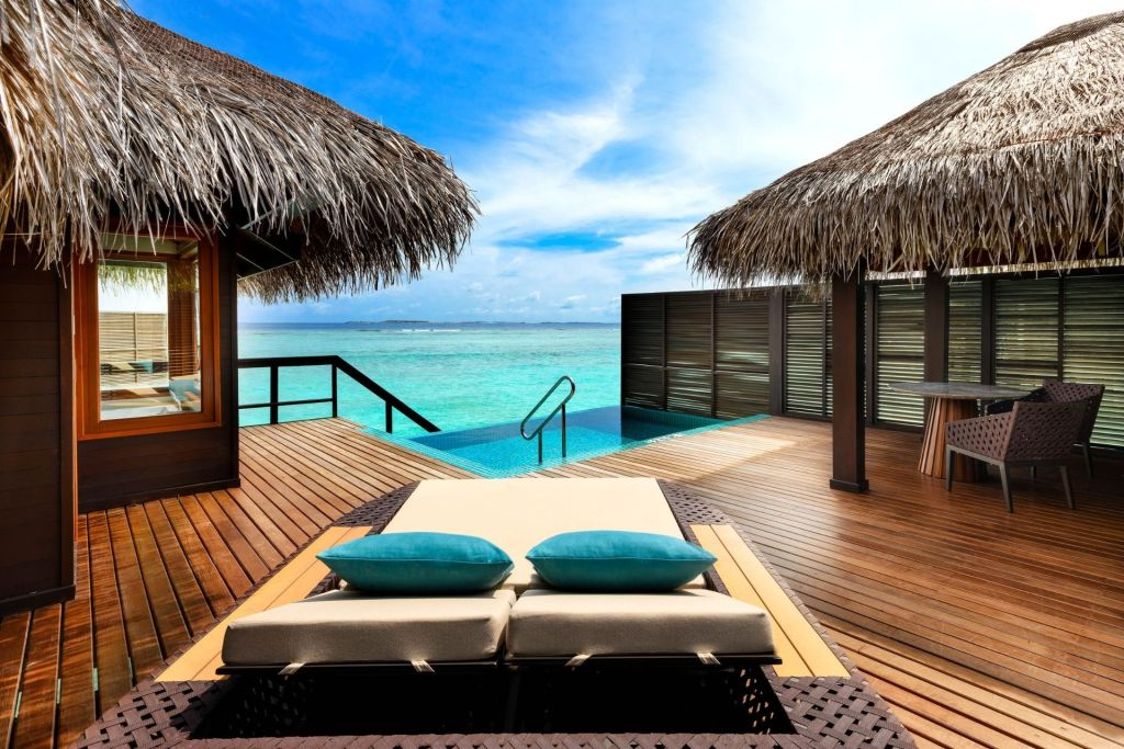 Water Bungalow at Sheraton Maldives Full Moon Resort & Spa