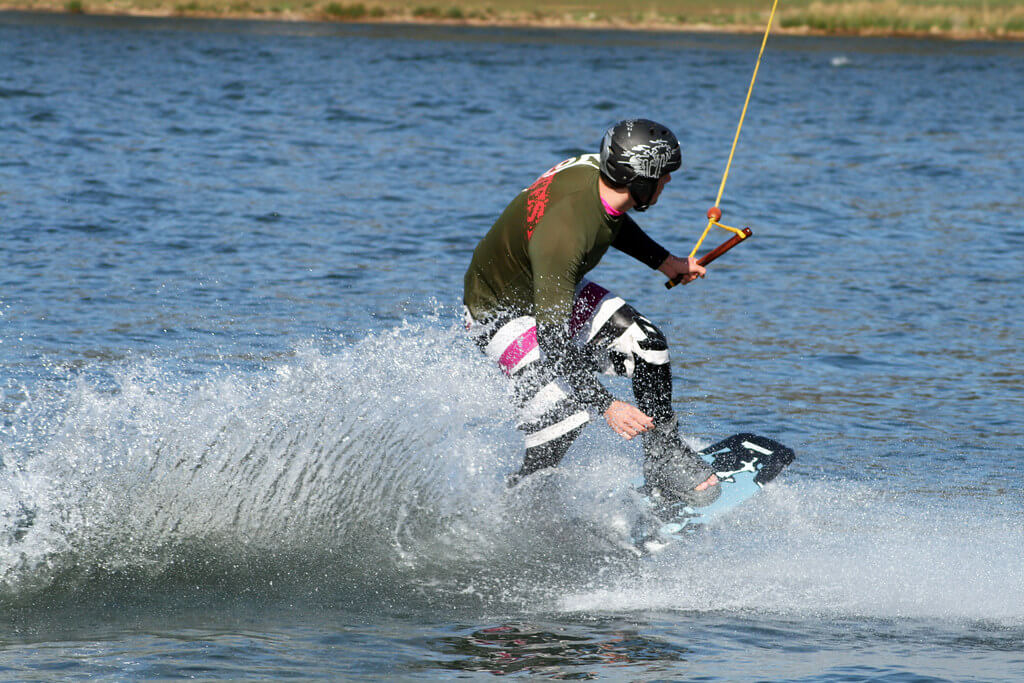 Water Skiing in Maldives Header