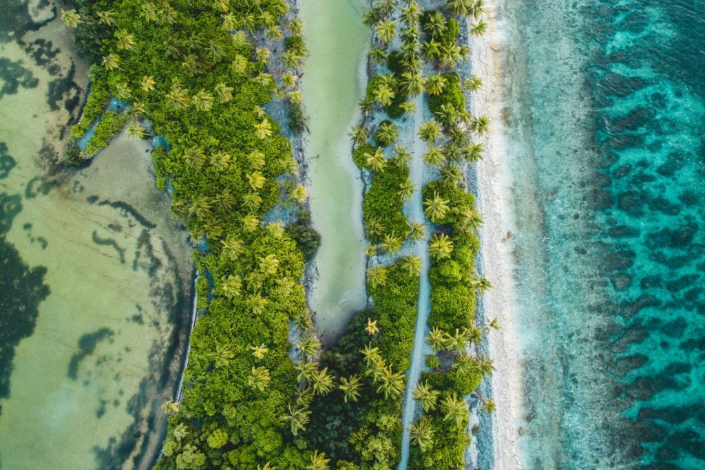 Maldives on Budget: Bike Through Nature Parks